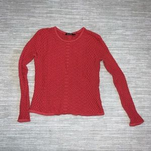 NIC and Zoe Button Back Sweater